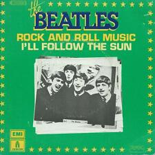 BEATLES rock n roll music (oldies but goldies PS) VG+/VG+  french 7""