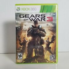 Gears of War 3 (Xbox 360) Tested, Complete, CIB - FREE SHIPPING!