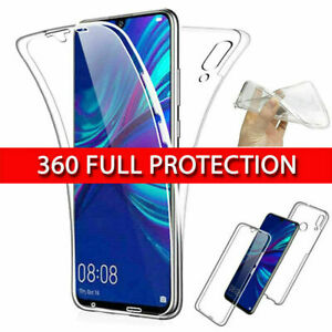 360° Case Cover For Samsung iPhone Front & Back Clear Full Protection TPU Skin