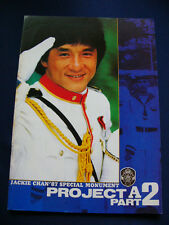1987 PROJECT A II Japan PROGRAM Jackie Chan Maggie Cheung
