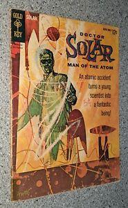 Doctor Solar Man of the Atom #1 VG+ Gold Key 1962 Silver Age Key Comic Book!