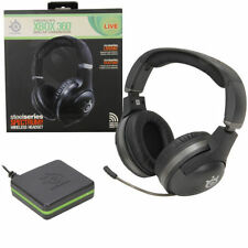 Auriculares negro Microsoft Xbox 360 para consolas de videojuegos