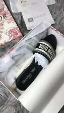 New Dior Womens Sandals Summer Beach Slide With Box