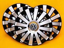 """4x13"""" VW Polo, Golf, Lupo, etc. adornos de rueda, Tapacubos, cubre 13 pulgadas"""