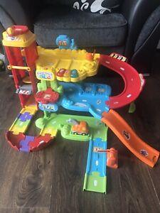 Vtech Baby Toot Toot Drivers Garage & Vehicles Playset Toddler Toy Bundle