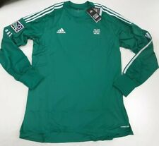 Adidas MLS GK Goalkeeper Long Sleeve Jersey Blank/No Crest Green Size XL