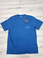NEW Men's Vineyard Vines T-Shirt Size Small Shark NWT blue
