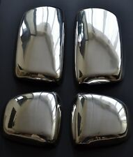Set 4 pcs Super Mirror Polished Stainless Steel Covers for DAF XF 95/105