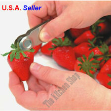Strawberry Huller (2) Pack Stem and Leaves Remover Tools & Gadgets (Free Ship)