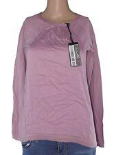 benetton maglia donna rosa cotone manica lunga taglia s small