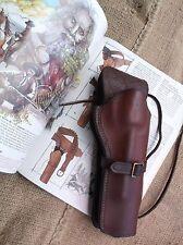Vintage Safariland Model 44 Frontiersman Leather SA Revolver Holster Ruger Black