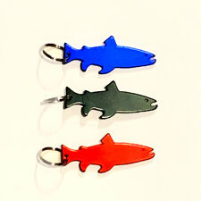 Fly Fishing Key Chain Bottle opner Bass Trout Catch & Release (Tri Pack)