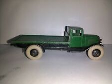 Dinky Toys 1940s serie 25 tipo 2 Ejes Vagón Plano Suave chasis abierto