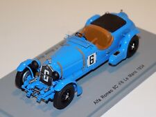 1/43 Spark Alfa Romeo 8C  car #6 1934 24 Hours of LeMans S3887