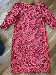 W by Worth Red Textured Dress