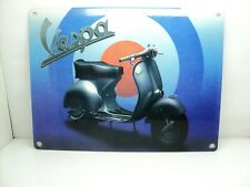 VESPA VINTAGE STYLE ENAMEL TIN SIGN  200 MM BY 150 MM 20