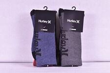 3 Pack Men's Hurley Nike Dri Fit Core Crewsocks