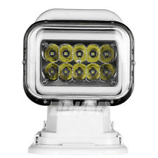CREE 50w Led Search Work light Remote Rotate Handhold Magnetic Base Truck Boat