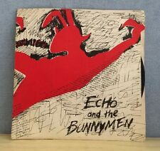 """ECHO & THE BUNNYMEN The Pictures On My Wall 1979 UK 7"""" Vinyl Single EXCELLENT CO"""