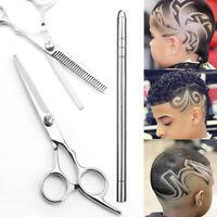 Salon Hair Cutting Thinning Scissors Barber Shears Engraving Tattoo Razor Pen B