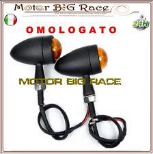 Frecce Moto Bullet per Moto Guzzi Triumph Aprilia Benelli NERO METALLO M39