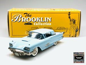 BROOKLIN MODELS BRK 64 1959 FORD THUNDERBIRD HARDTOP COUPE 1:43