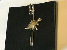 """T-Rex TG242 Pewter Scarf and Kilt Pin Pewter 3"""" 7.5 cm"""