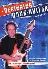 Beginning Rock Guitar - Dvd - Shredder Jim - Guitar Instruction - Guitar Lessons