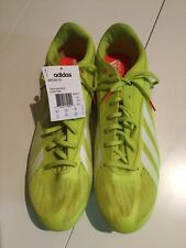 Adidas Sprint Star 4 M B40813 Yellow Track & Field Spikes Shoes Men's 13 new