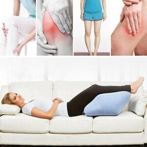 Memory Foam Leg Raiser Knee Pillow Foot Rest Wedge Swollen Legs Support Cushion
