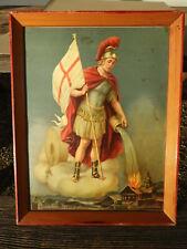 c.1940 HL. ST. FLORIAN FLORIANI Heiligenbild holy picture Schutzpatron Feuerwehr