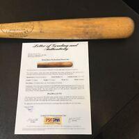 The Finest 1951-58 Hank Bauer Game Used Louisville Slugger Bat PSA DNA GU 9.5