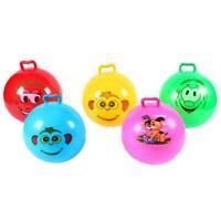 25cm 100lbs Inflatable Hopping Jumping Ball Bouncer Hopper Handle Kids Fun Toys