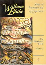WILLIAM BLAKE Songs of Innocence & of Experience, Blakes illuminated books Vol 2