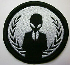 alien anonymous style Leader Alien Iron on Patch FREE NORTH AMERICA SHIPPING