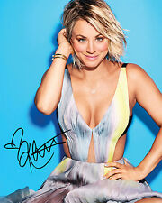 TBBT KALEY CUOCO #1 10X8 PRE PRINTED (SIGNED) LAB QUALITY PHOTO - FREE DEL