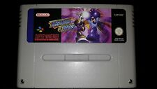 Megaman and Bass (Rockman and Forte) SNES Super Nintendo PAL in english