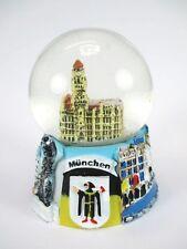 Boule de neige La Mairie De Munich Marienplatz,Souvenir Germany Snowglobe,Neuf