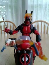 Marvel Legends Custom Ghost Rider Deadpool with Scooter