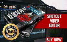 Shotcut (Professional Video Editor Software Suite) Lifetime License Windows/Mac