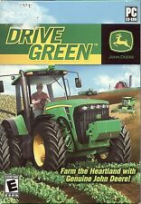 JOHN DEERE:DRIVE GREEN for PC *NEW FACTORY SEALED*