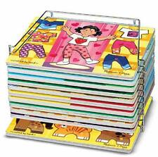 "Single Wire Puzzle Rack # 1018 ~ Stores 9"" x 12"" Puzzles ~ Melissa & Doug"