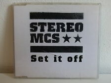 CD 2 titres PROMO STEREO MCS Set it off 4493014324