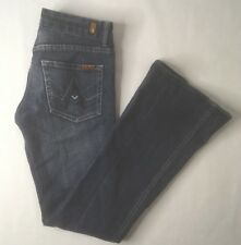Seven 7 For All Mankind Womens A Pocket Size 26 Blue Jeans A
