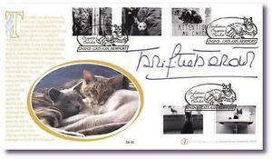 Buckingham Covers Brigitte Bardot Foundation Cats Cover Signed Brigitte Bardot