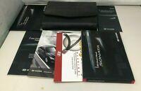 2011 Hyundai Sonata Owners Manual Handbook Set with Case OEM Z0B173