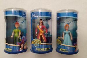 Disney Peter Pan Pirates Heroes Action Figure Lot  3 Figures NEW