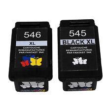 Cartouches d'encre Compatibles CANON : PG-545 XL CL-546 XL ( PG545 / CL546 )