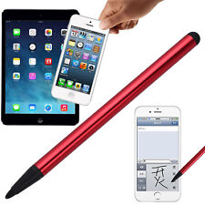 2 in 1 Touch Screen Pen Stylus Universal For iPhone iPad Samsung High Accuracy