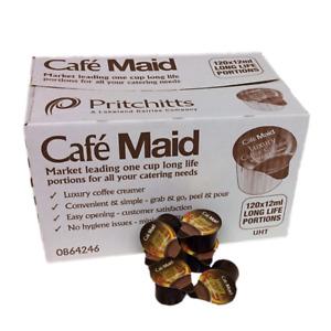 COFFEE CREAMER POTS CAFE MAID 120 PER BOX